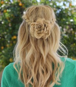 Flower Braid for girls