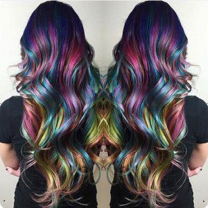 Fluid Mermaid Dyed