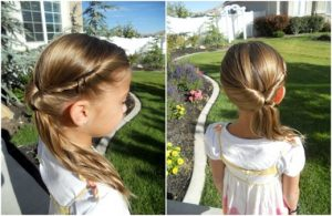 Formal hairstyles for little girls