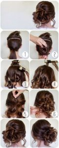 Formal hairstyles for parties