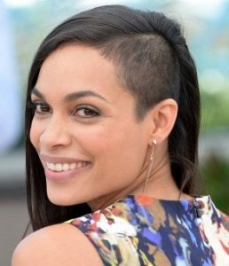 Half-shaved hairstyles for women