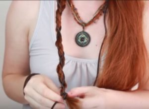 Medieval Hairstyles for Long and Medium Length Hair part 3