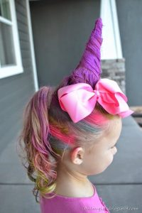 Pastel Unicorn Ponytail