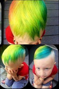 Rainbow Hairstyle