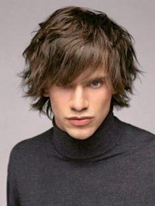 Shag Hairstyle for Men