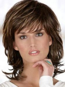 Shag Hairstyle for Woman