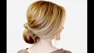 Stylized Low Bun