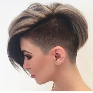 Trendiest shaved hairstyles for women in 2018