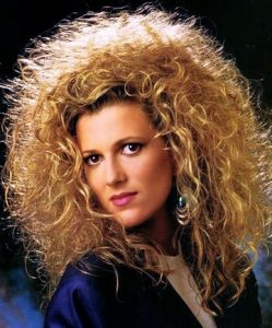 Vintage hairstyles from the 1980's decade