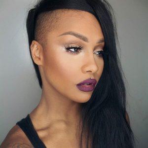 a hair straightener