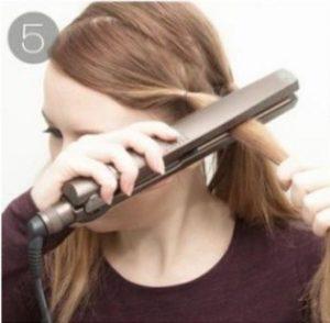 medieval hairstyles step 3