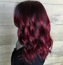 try a red balayage