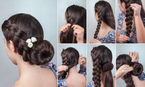 upper ponytail